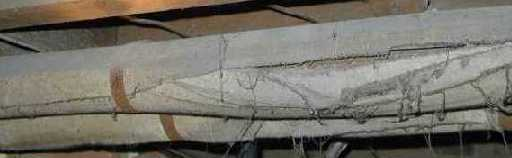 Asbestos Insulated Heating Pipe