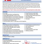 Keep your home in top condition with this Texan Inspection Home Maintenance Check List