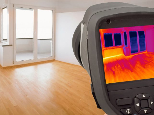 Thermal Imaging used by Texan Inspection for Houston area home inspections